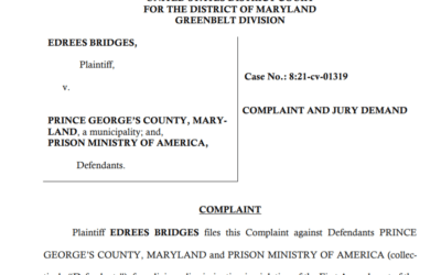 Seddiq Law Joins CAIR in Suing Prince George's County for Civil Rights Violation